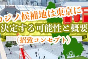 カジノ候補地は東京に決定する可能性と概要(招致コンセプト)