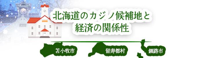 北海道のカジノ候補地と経済の関係性