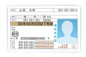 ベラジョンカジノを始める為に自動車運転免許書を準備