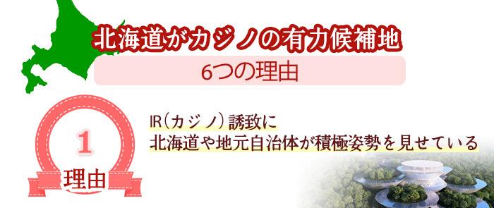 IR(カジノ)誘致に北海道や地元自治体が積極姿勢を見せている
