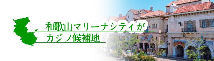 和歌山マリーナシティがカジノ候補地