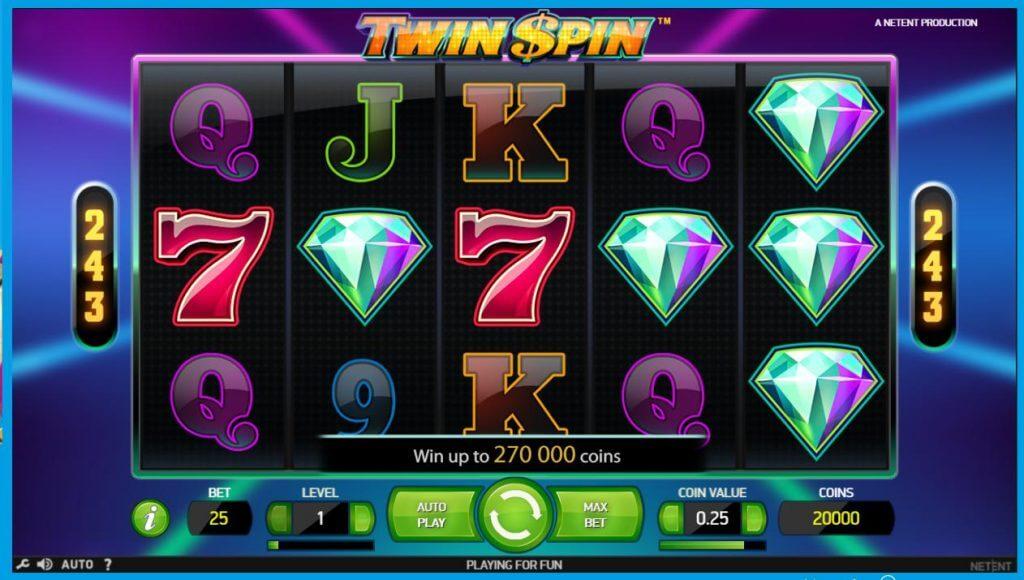 ベラジョンカジノのオススメスロット「Twin Spin」