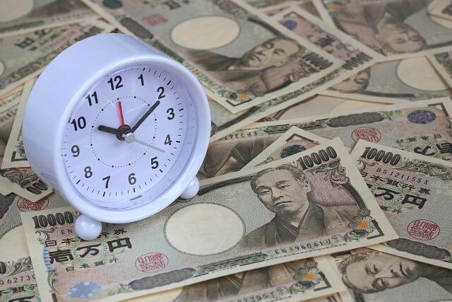 ジパングカジノの出金までにかかる時間