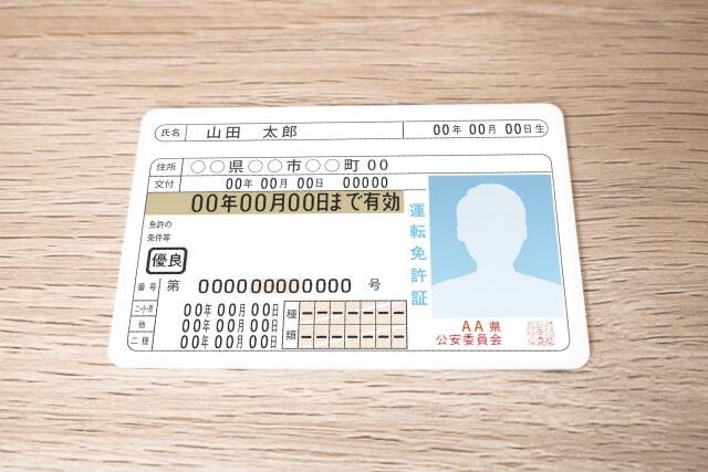 出金時に必要なっ身分証明書