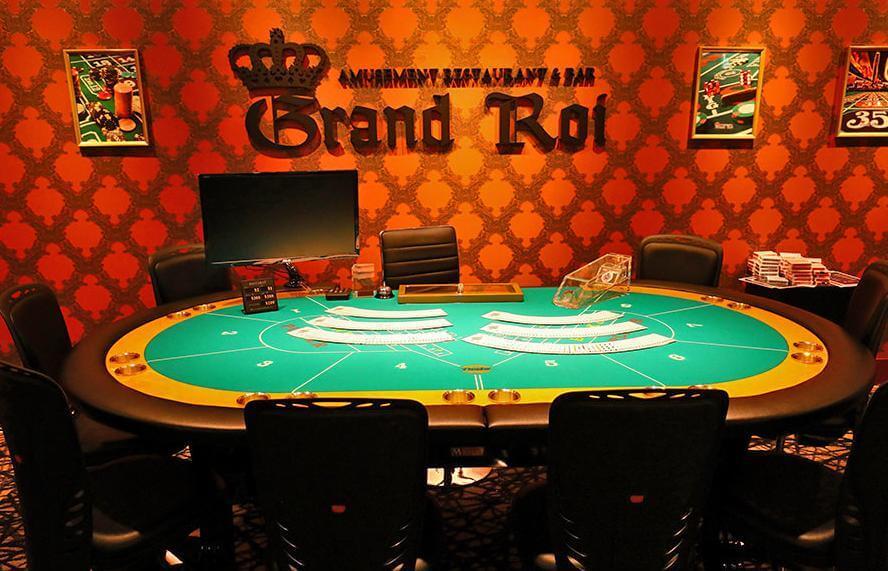 尼崎にあるカジノバーのグランロア
