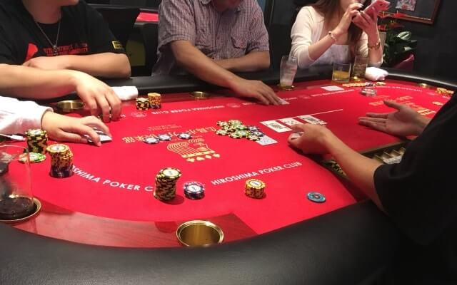 広島市のカジノバーの広島ポーカー倶楽部