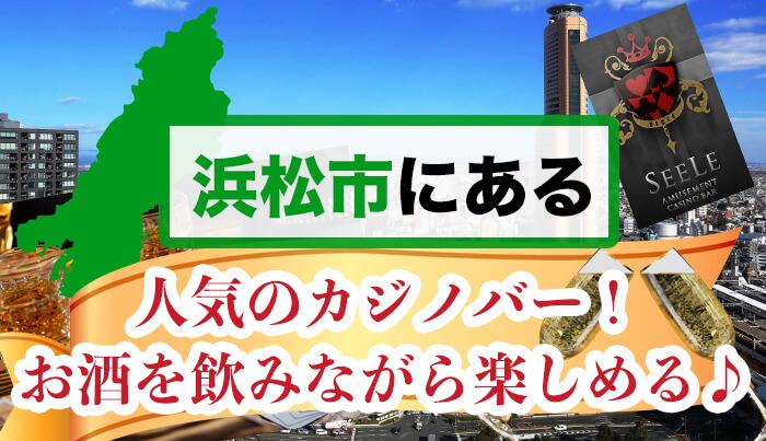 浜松市にある人気のカジノバーを紹介♪お酒を飲みながら楽しめる♪