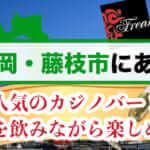 静岡・藤枝市にある人気のカジノバーを紹介♪お酒を飲みながら楽しめる♪