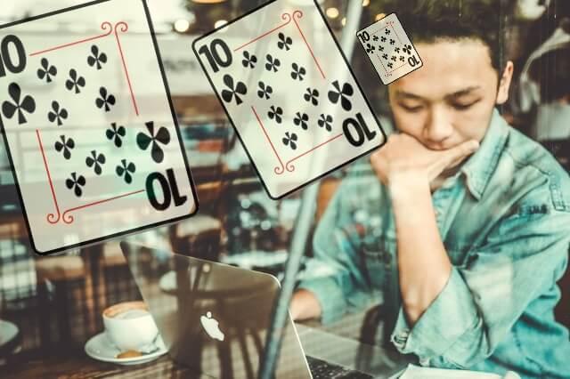 ブラックジャックの考え方①分からないカードを「10」と考える