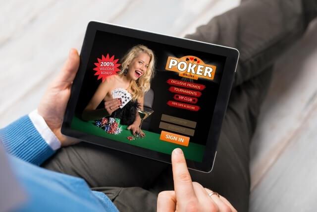 「儲かる」のポーカーはオンラインカジノから