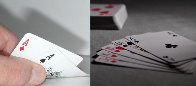 「ブラックジャック」と「ポーカー」との違い