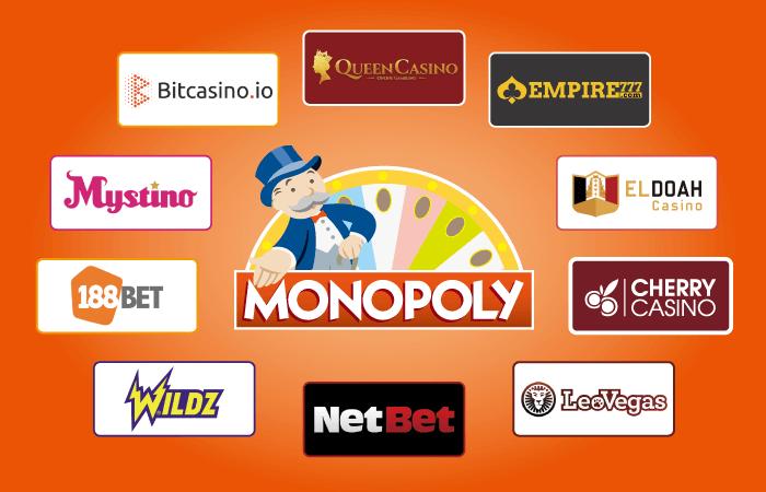 モノポリーができるおすすめのオンラインカジノ