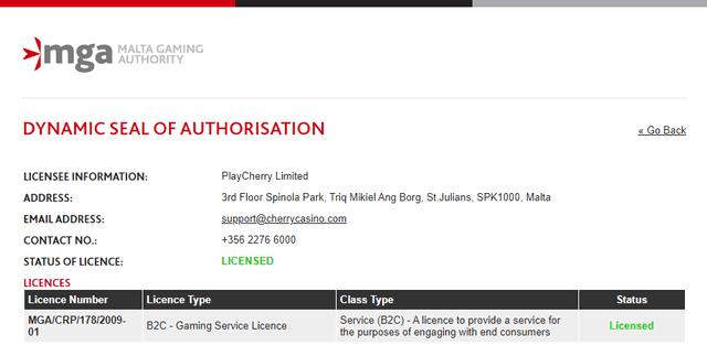 海外ライセンスの公式サイト