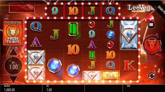 レオベガスでプレイできるゲーム『Leo Vegas Megaways』