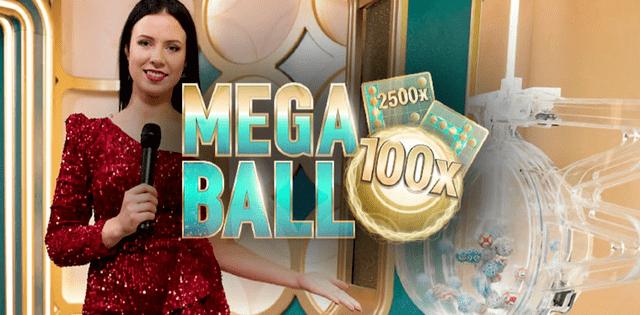 10betでプレイできるゲーム『Live Mega Ball』