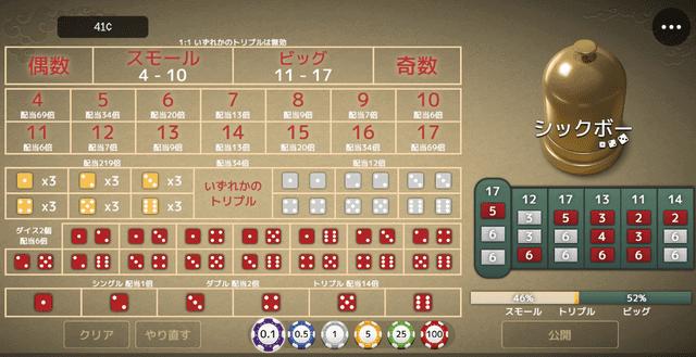 オンラインカジノでプレイできるマイナーなゲーム【シックボー】