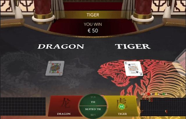 ドラゴンタイガーでドラゴンにベットしてモンテカルロ法を検証