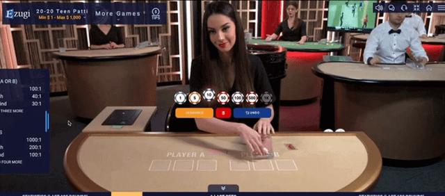 ポーカーでディーラーと勝負