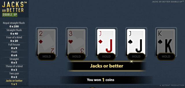オンラインカジノで楽しめるおすすめポーカーゲーム【ジャックスオアベター】