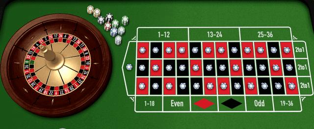 35個の数字に同時に賭ける「べアビック法」