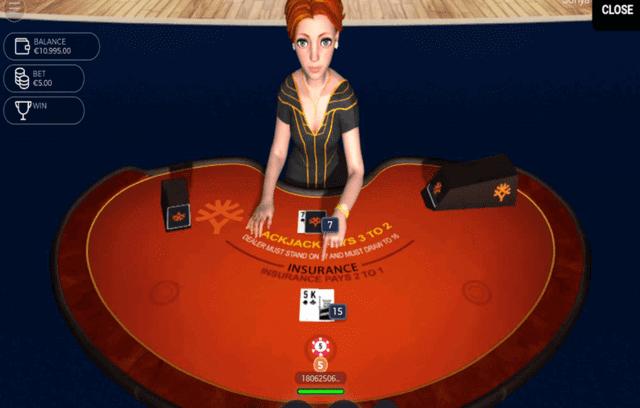 オンラインカジノの人気バーチャルゲーム【Sonya Blackjack】