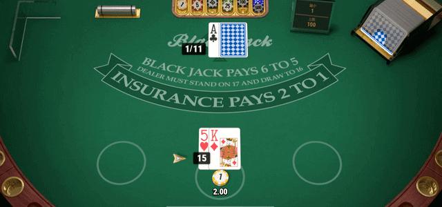 ディーラーに配られたカードは1枚だけ「アップカード」として、プレイヤーに公開