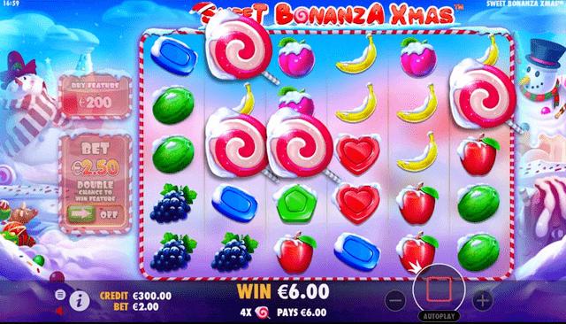 Pragmatic Playの『Sweet BonanzaXmas』