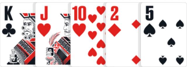 ポーカーの役【ワンペア】