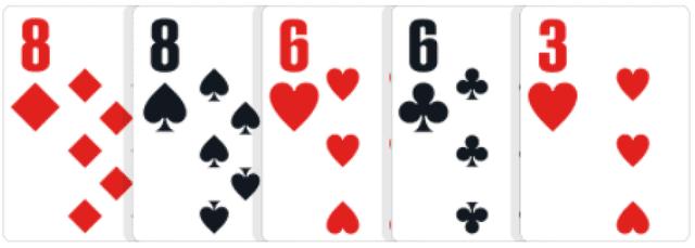 ポーカーの役【ツーペア】