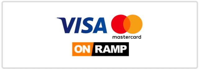 VISAとMastercardはON RAMP経由で入金可能