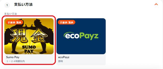ビットカジノの楽天銀行入金オプション「Sumo Pay」
