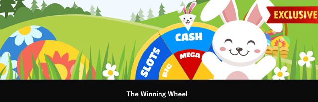 「The Winning Wheel」というプロモーション