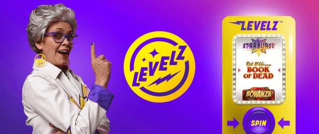 ワイルズカジノの「Levelz」