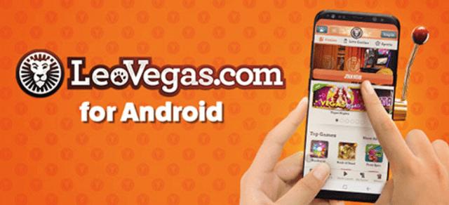レオベガスのモバイルアプリ