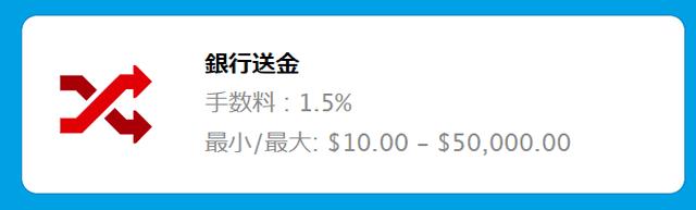 ベラジョンカジノの出金方法【銀行送金】