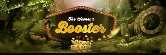 「Weekend Booster」は翌週の金曜日に出金条件なしのリアルマネーとして進呈される