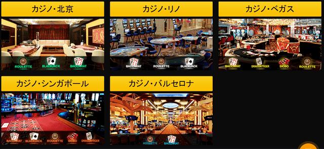 エンパイアカジノのライブゲームプロバイダ